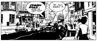 fumetti londra