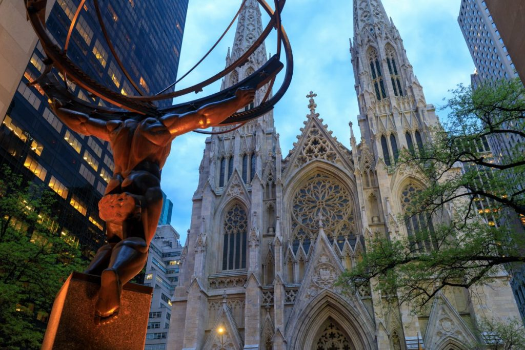 new york statua atlante