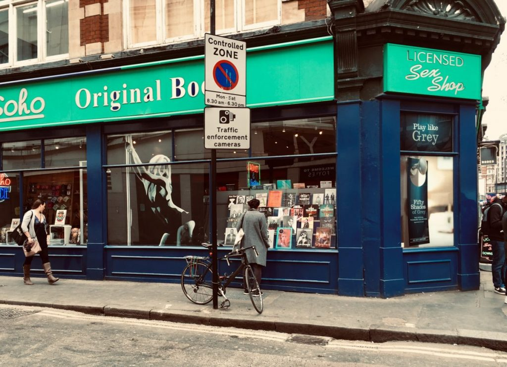 londra negozi libri