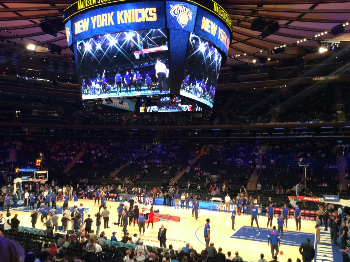 new york stadio knicks