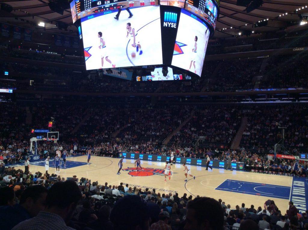 new york stadio basket