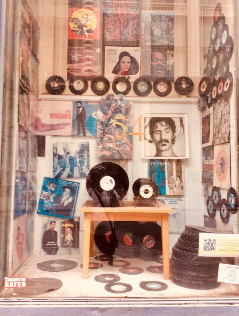 new york negozio dischi vinile