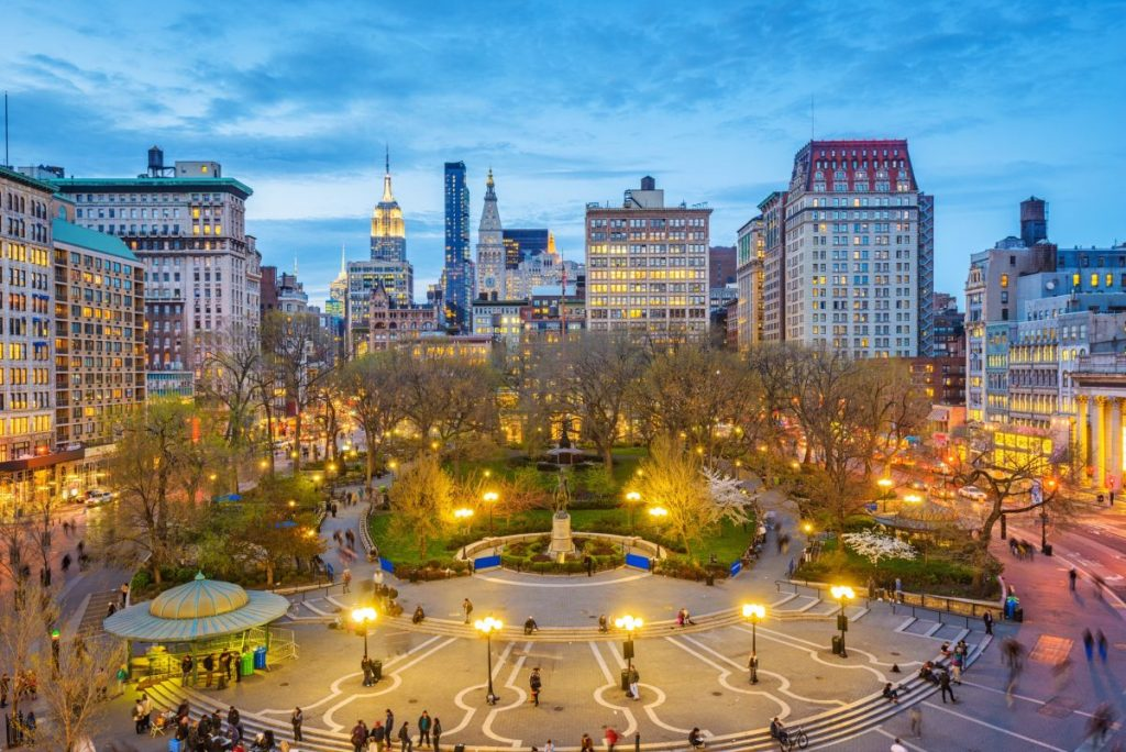 new york piazza union