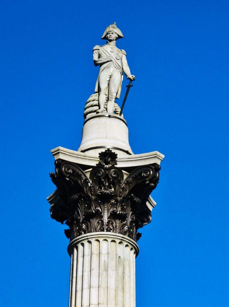 londra statua nelson