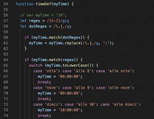dialogflow fulfillment code